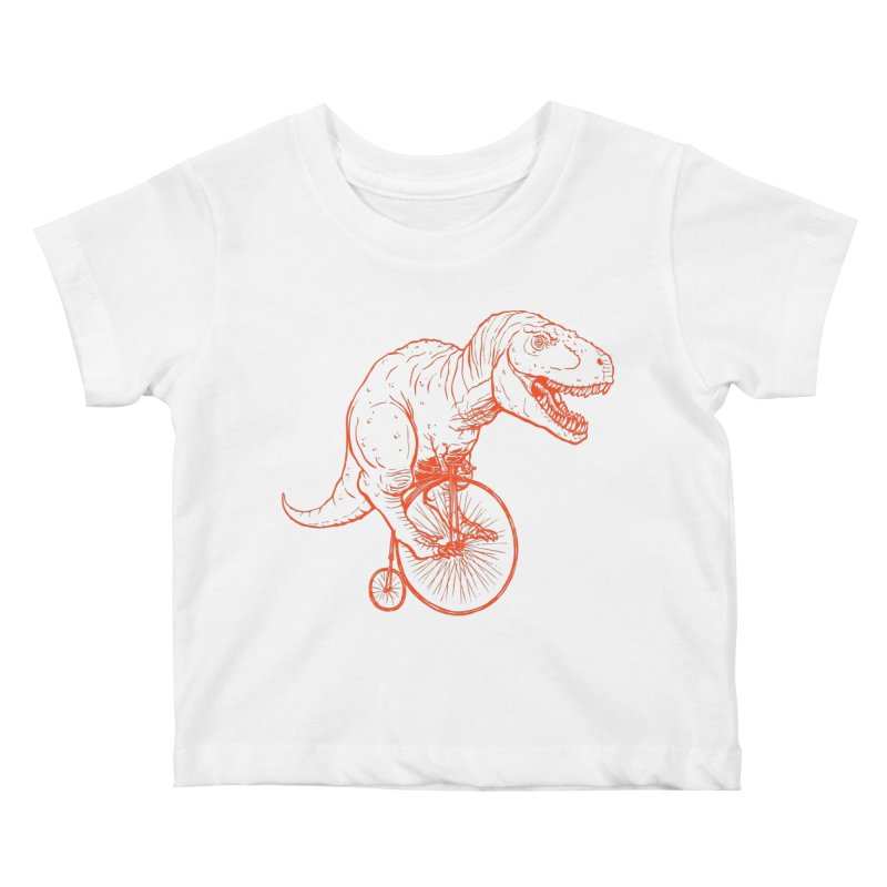 Dino Kids Baby T-Shirt by monoestudio's Artist Shop