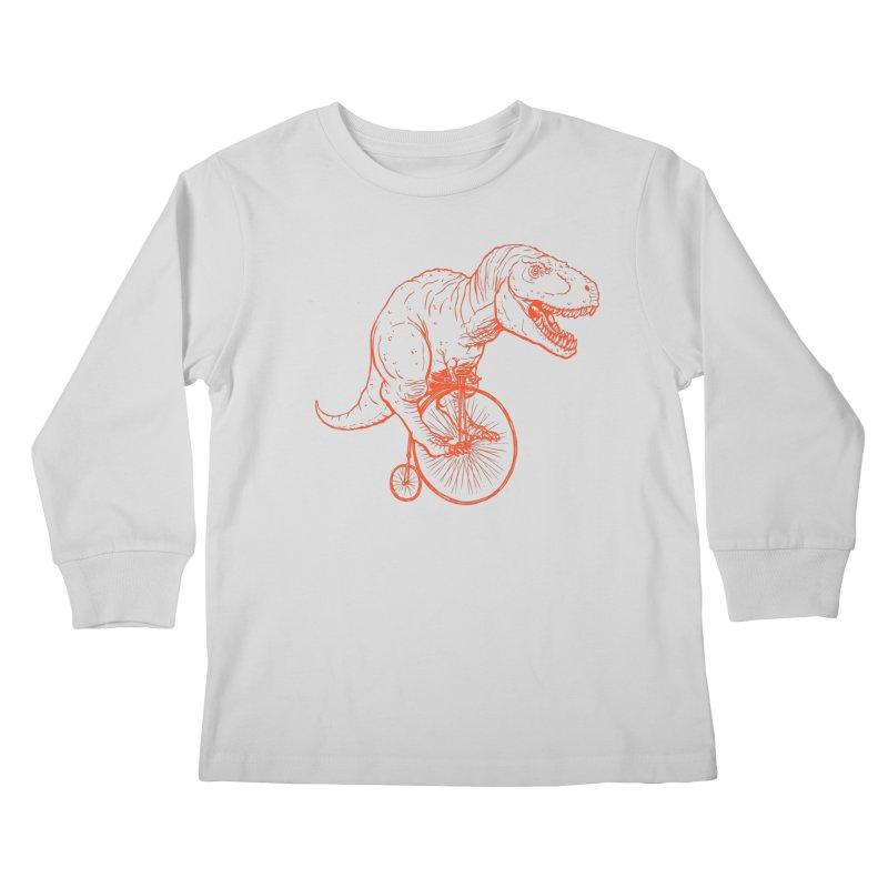 Dino Kids Longsleeve T-Shirt by monoestudio's Artist Shop