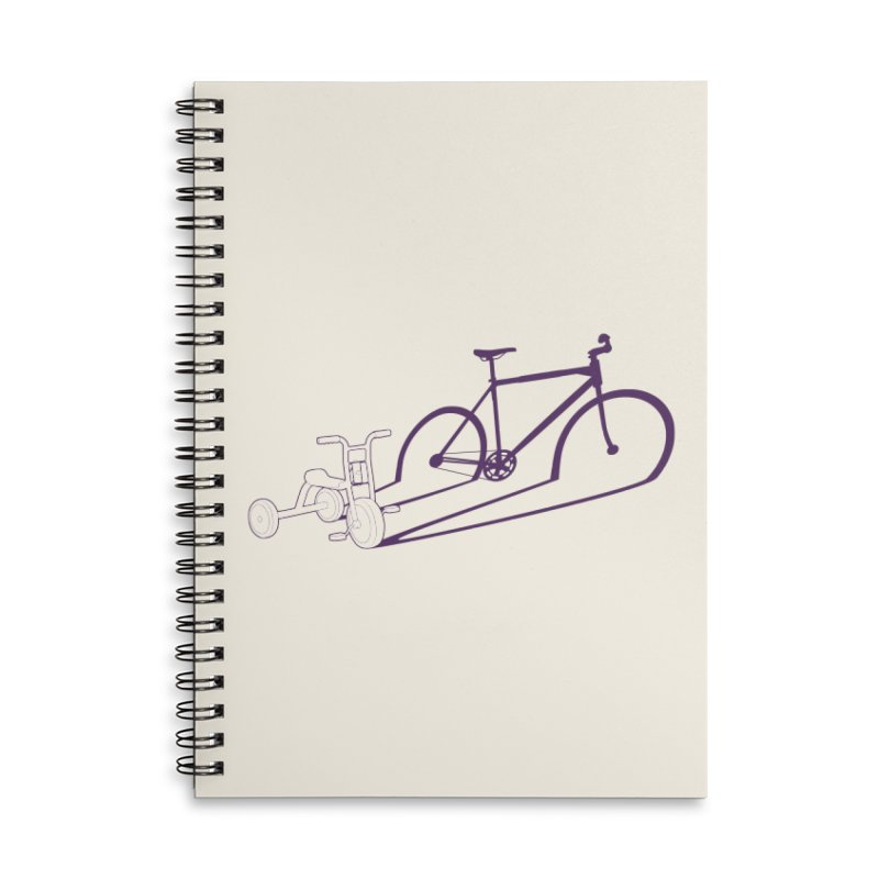 Triciclo Accessories Lined Spiral Notebook by monoestudio's Artist Shop