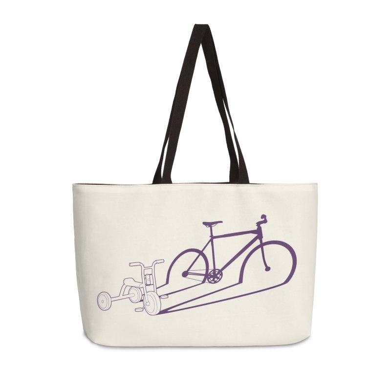 Triciclo Accessories Weekender Bag Bag by monoestudio's Artist Shop
