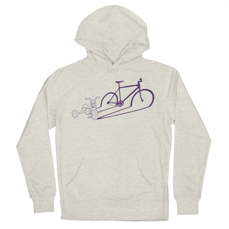 Triciclo Women's French Terry Pullover Hoody by monoestudio's Artist Shop