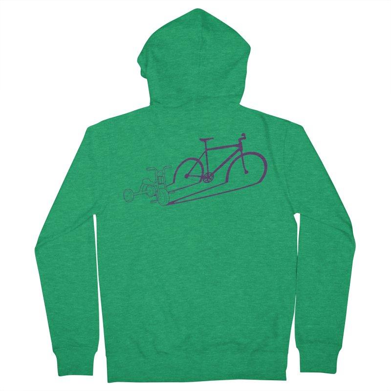 Triciclo Women's Zip-Up Hoody by monoestudio's Artist Shop