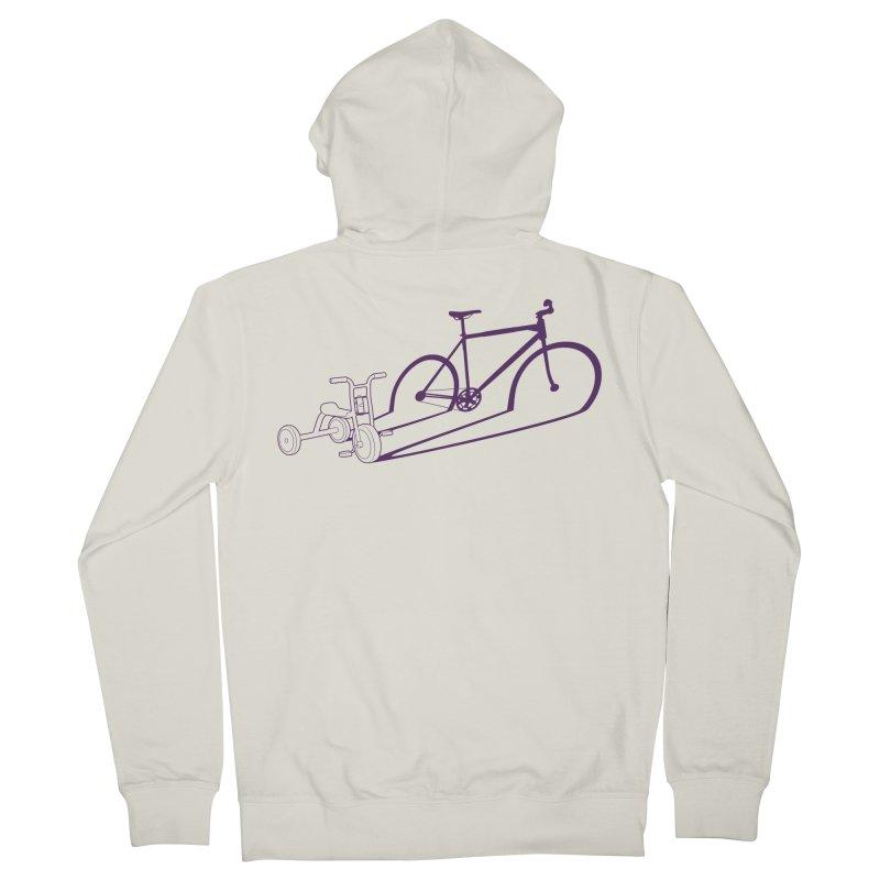 Triciclo Men's Zip-Up Hoody by monoestudio's Artist Shop