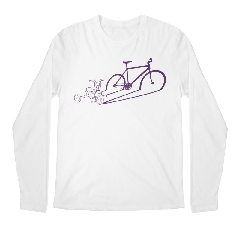 Triciclo Men's Regular Longsleeve T-Shirt by monoestudio's Artist Shop