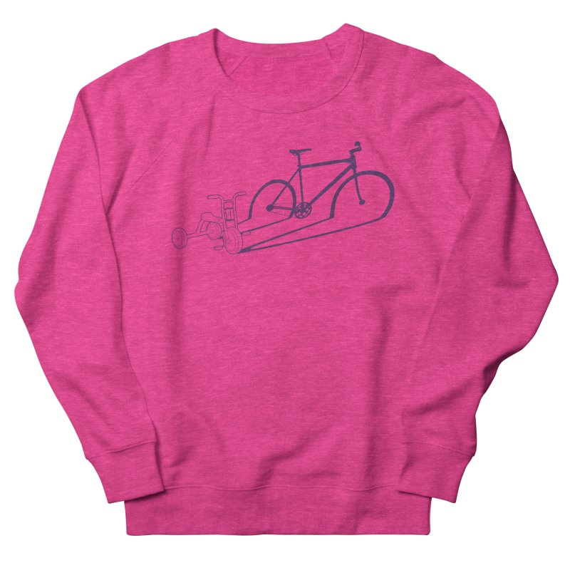 Triciclo Women's French Terry Sweatshirt by monoestudio's Artist Shop