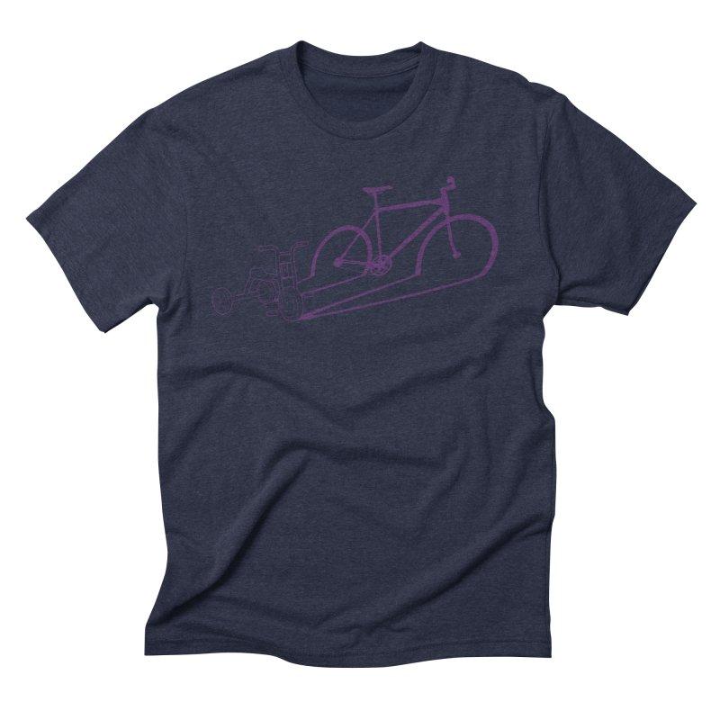 Triciclo Men's Triblend T-Shirt by monoestudio's Artist Shop