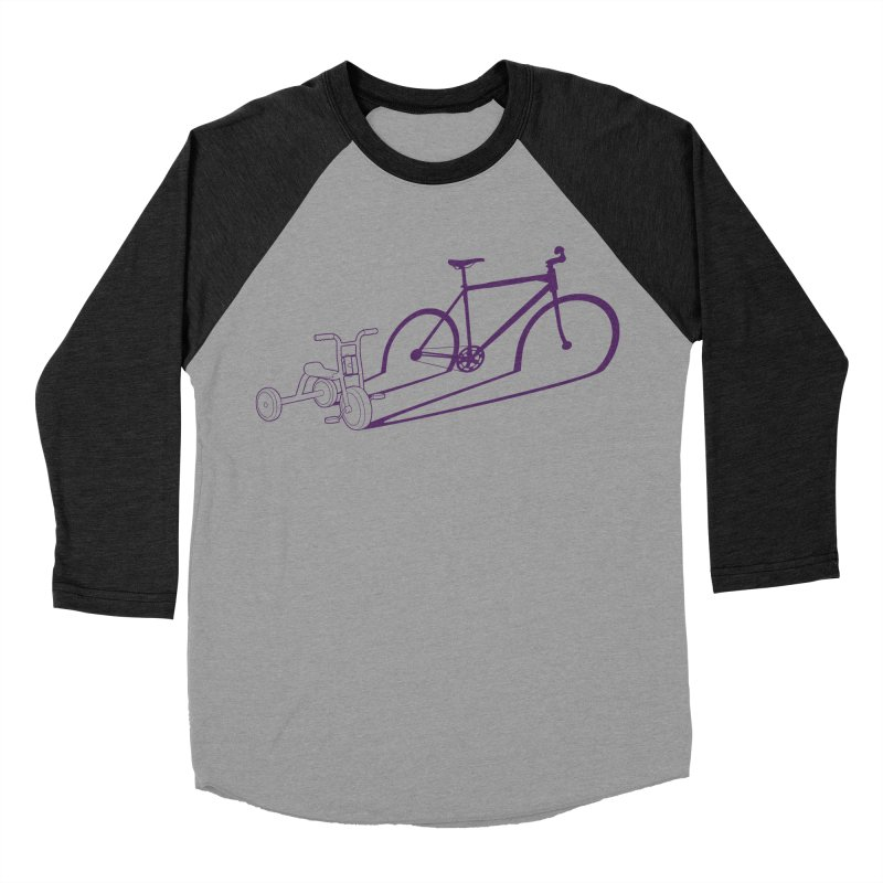 Triciclo Women's Baseball Triblend Longsleeve T-Shirt by monoestudio's Artist Shop