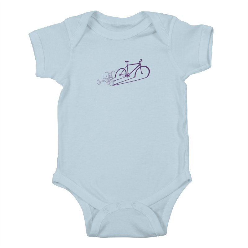 Triciclo Kids Baby Bodysuit by monoestudio's Artist Shop