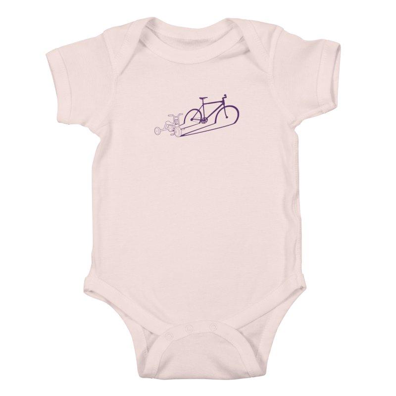 Triciclo Kids Baby Bodysuit by monoestudio's Artist Shop