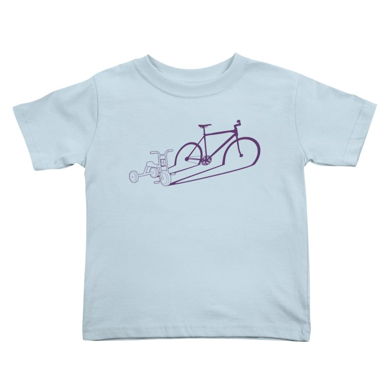 Triciclo Kids Toddler T-Shirt by monoestudio's Artist Shop