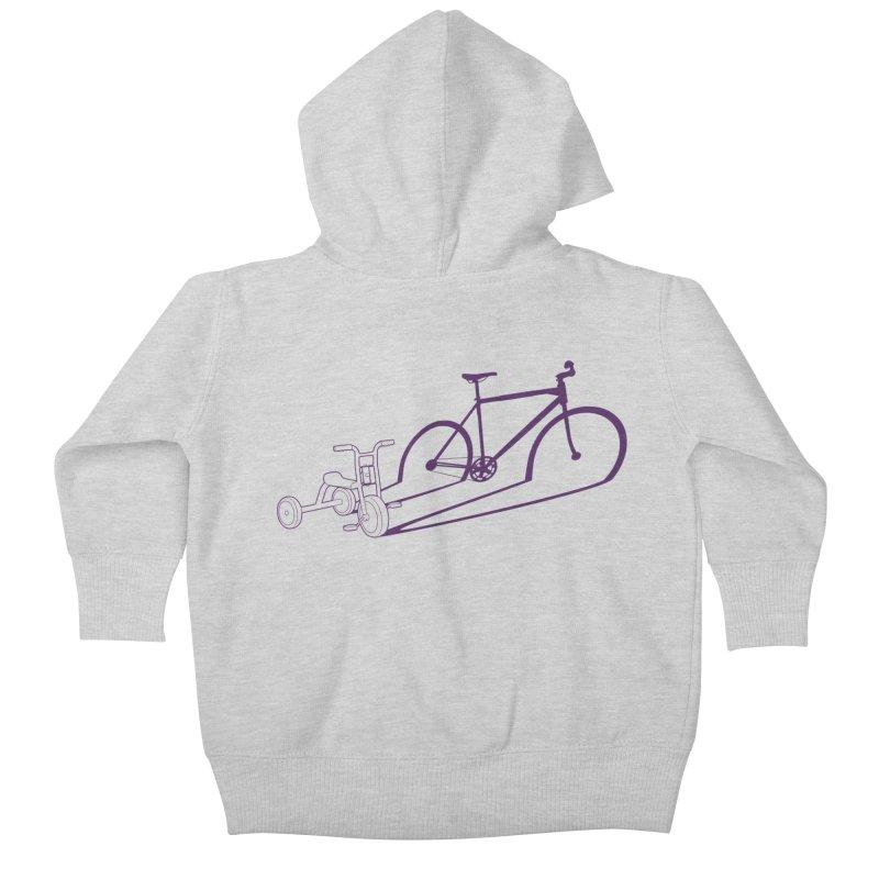 Triciclo Kids Baby Zip-Up Hoody by monoestudio's Artist Shop