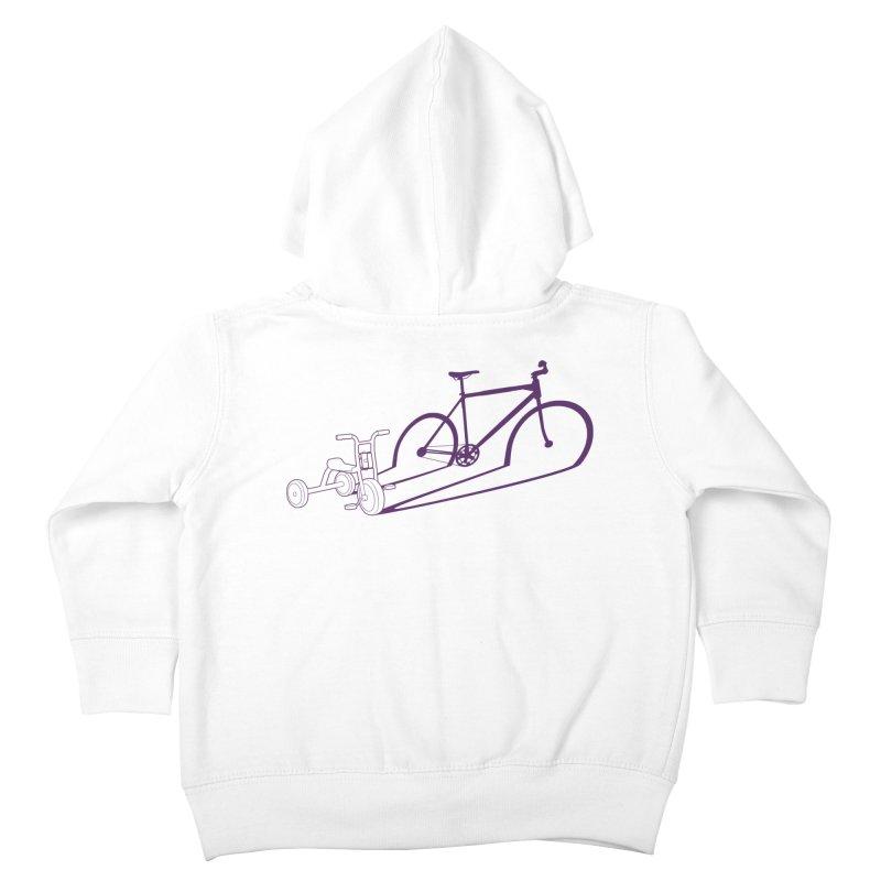 Triciclo Kids Toddler Zip-Up Hoody by monoestudio's Artist Shop
