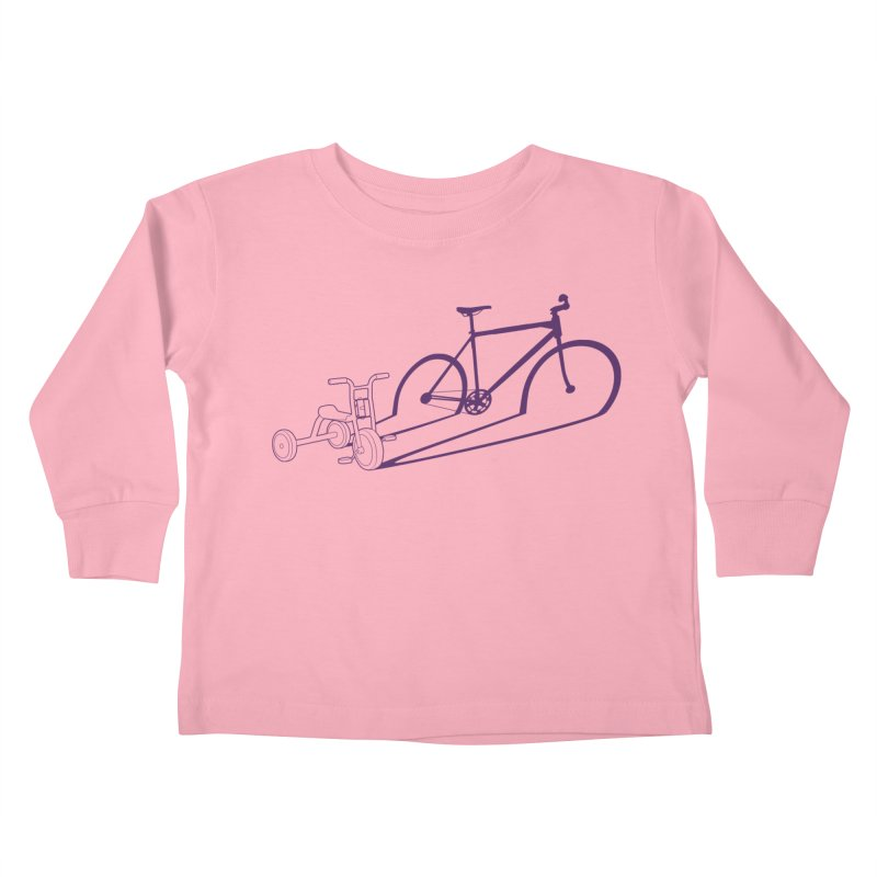 Triciclo Kids Toddler Longsleeve T-Shirt by monoestudio's Artist Shop