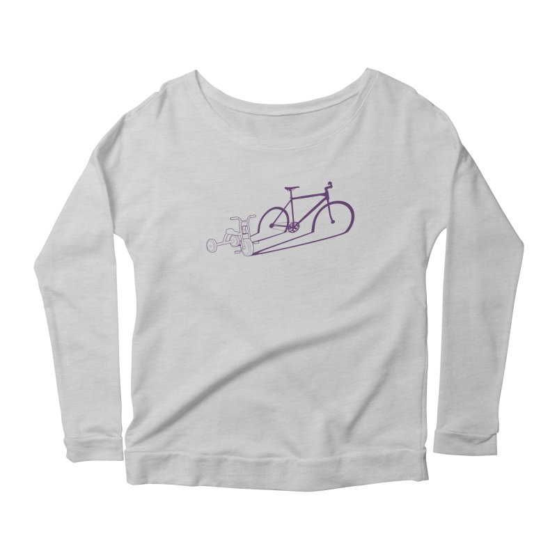 Triciclo Women's Scoop Neck Longsleeve T-Shirt by monoestudio's Artist Shop