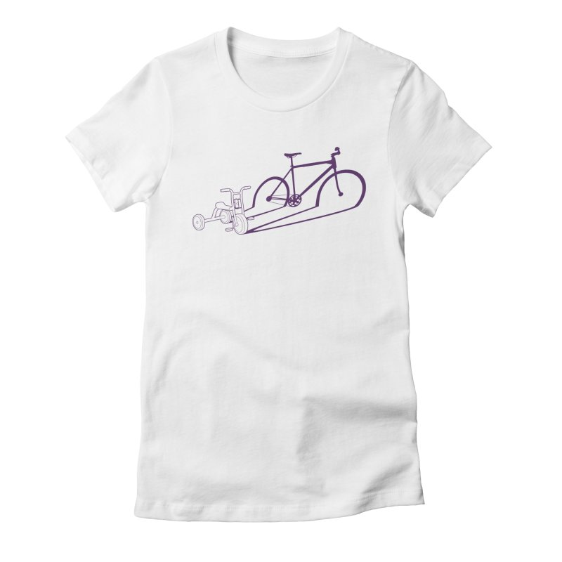 Triciclo Women's Fitted T-Shirt by monoestudio's Artist Shop