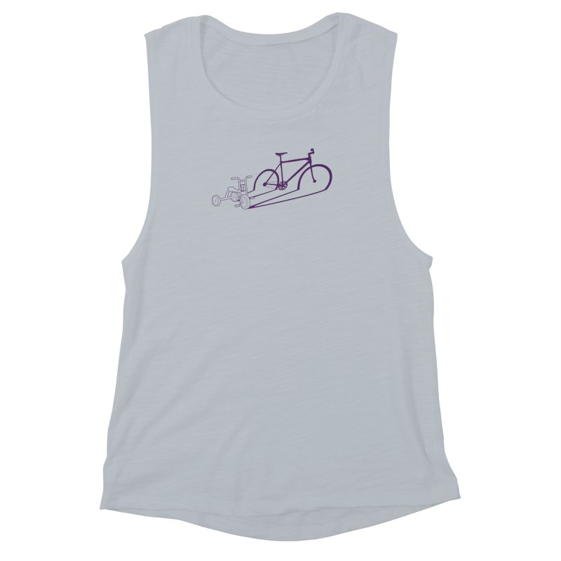 Triciclo Women's Muscle Tank by monoestudio's Artist Shop