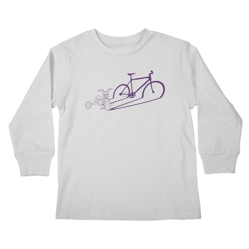 Triciclo Kids Longsleeve T-Shirt by monoestudio's Artist Shop