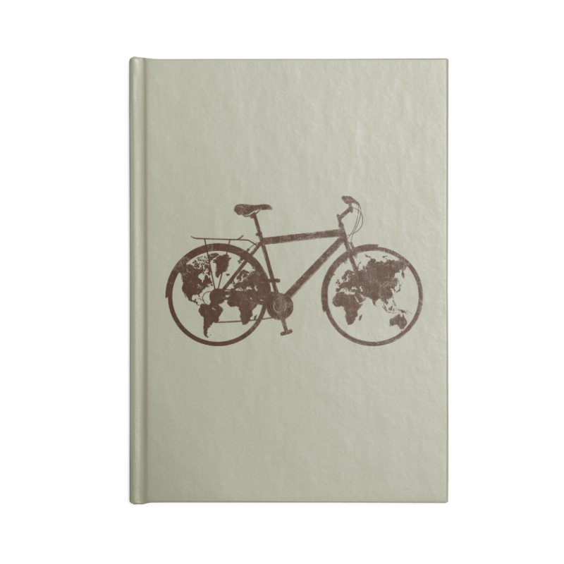 Mundo Accessories Notebook by monoestudio's Artist Shop