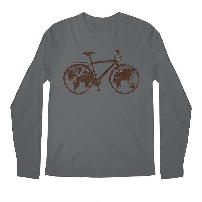 Mundo Men's Longsleeve T-Shirt by monoestudio's Artist Shop
