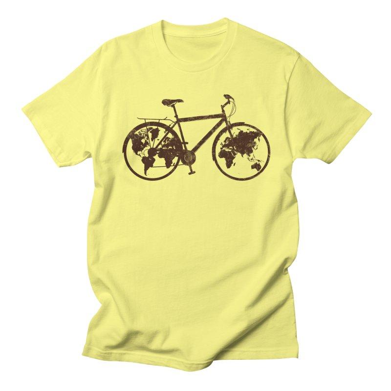Mundo Women's Regular Unisex T-Shirt by monoestudio's Artist Shop