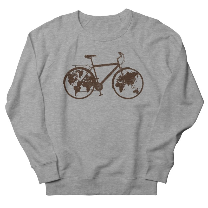 Mundo Men's French Terry Sweatshirt by monoestudio's Artist Shop