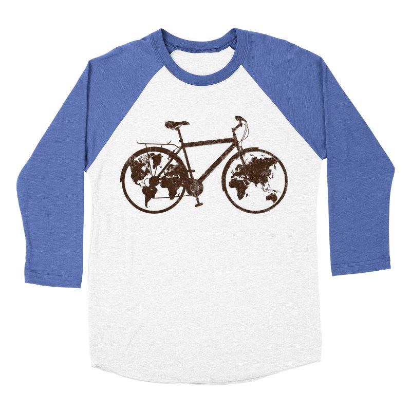 Mundo Women's Baseball Triblend Longsleeve T-Shirt by monoestudio's Artist Shop