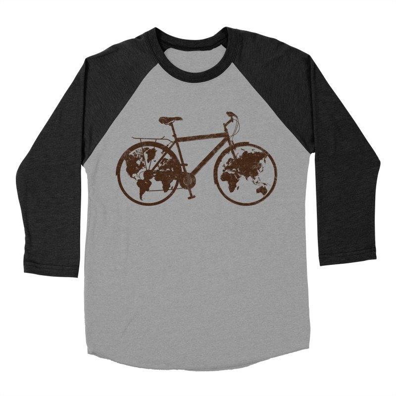 Mundo Men's Baseball Triblend T-Shirt by monoestudio's Artist Shop