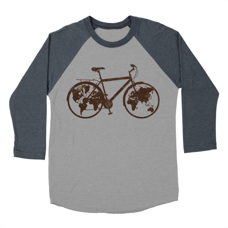 Mundo Men's Baseball Triblend Longsleeve T-Shirt by monoestudio's Artist Shop