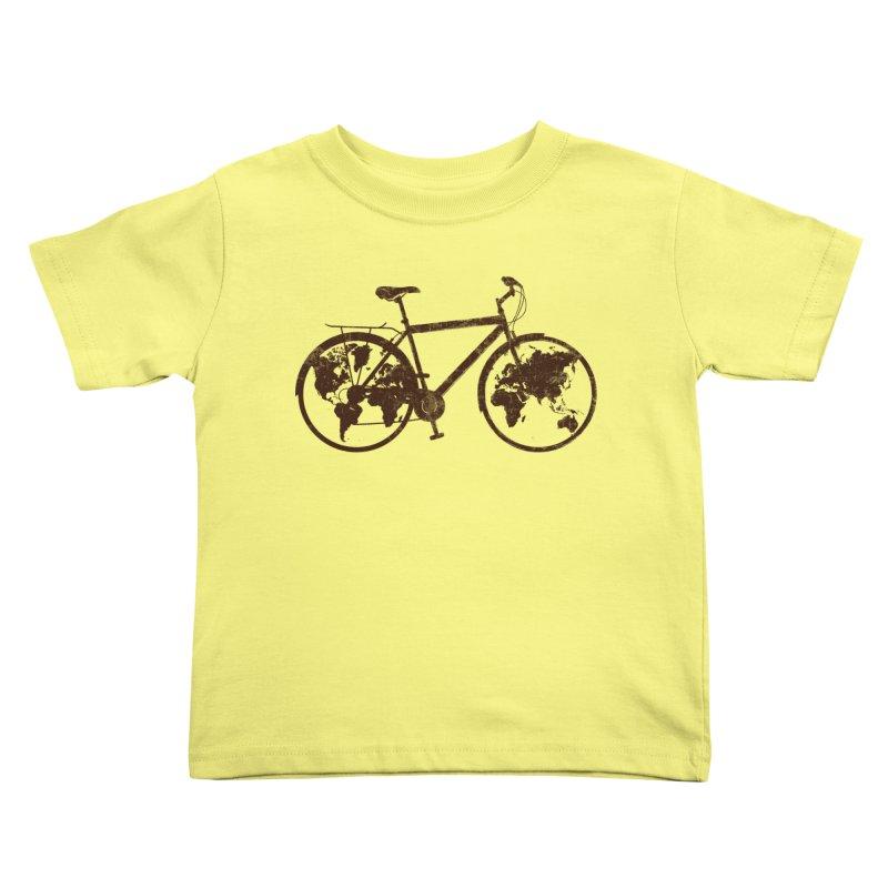 Mundo Kids Toddler T-Shirt by monoestudio's Artist Shop