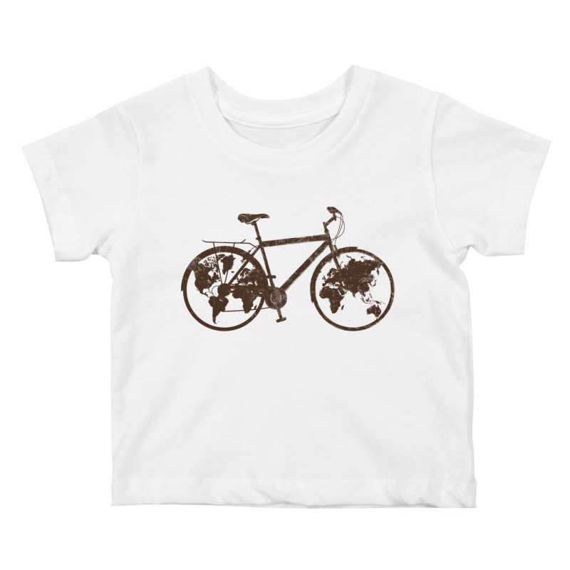 Mundo Kids Baby T-Shirt by monoestudio's Artist Shop