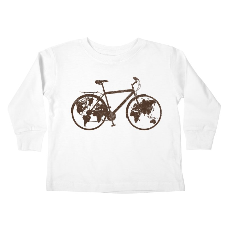Mundo Kids Toddler Longsleeve T-Shirt by monoestudio's Artist Shop