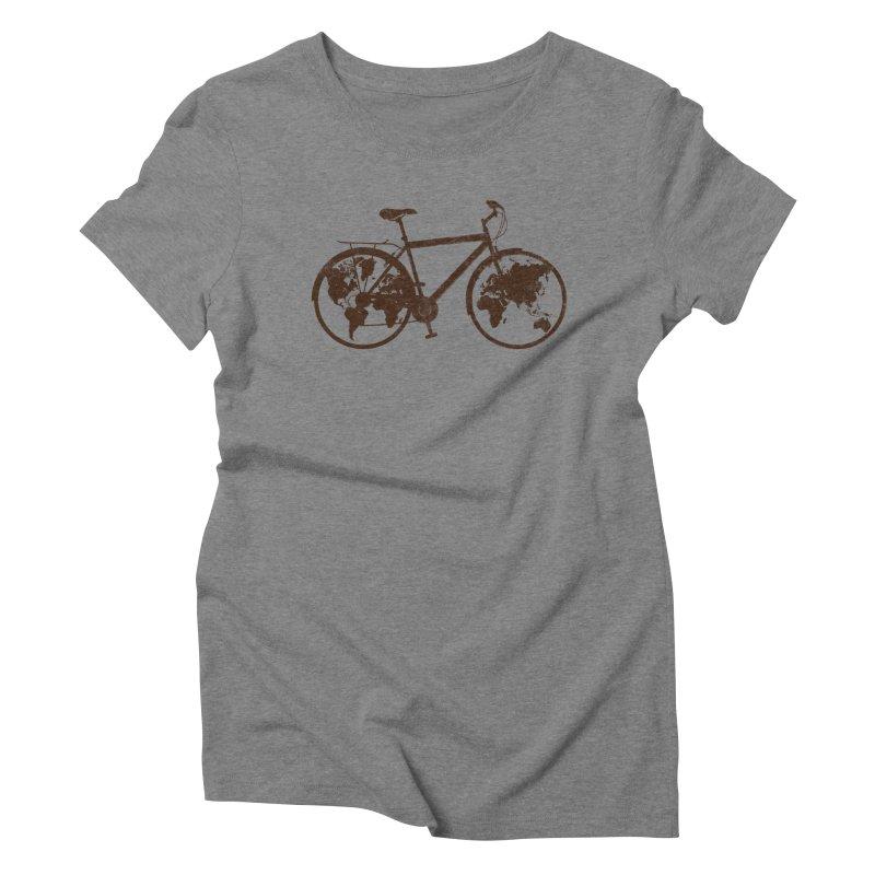 Mundo Women's Triblend T-Shirt by monoestudio's Artist Shop
