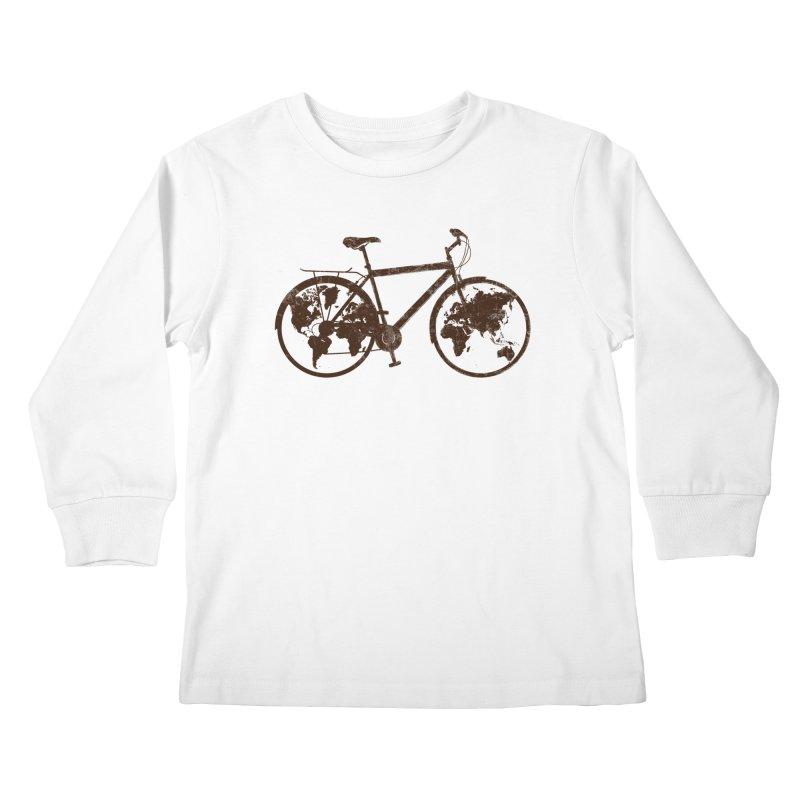 Mundo Kids Longsleeve T-Shirt by monoestudio's Artist Shop