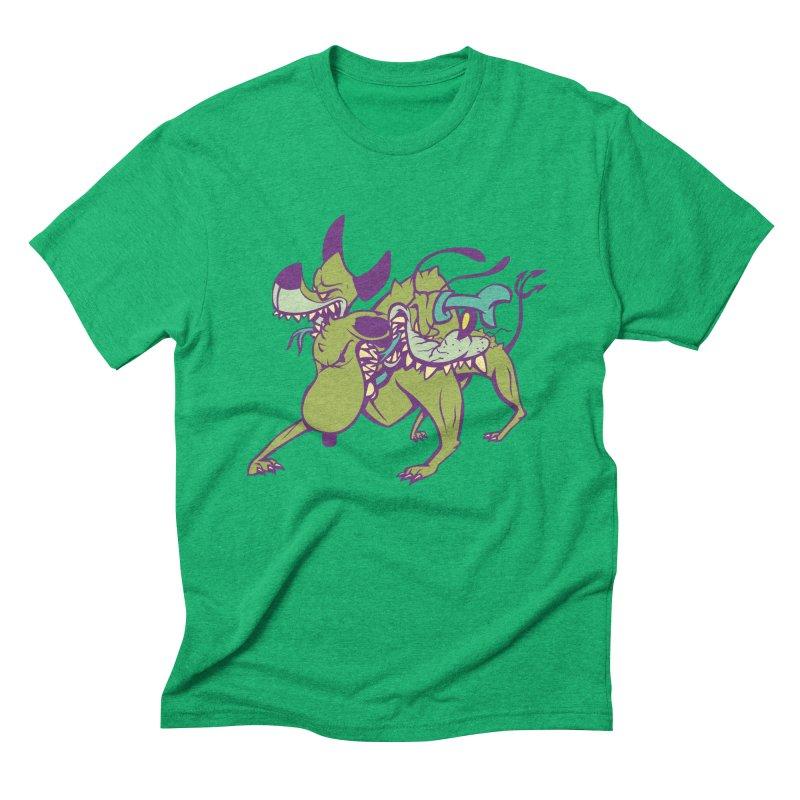 Cancerbero Men's Triblend T-Shirt by monoestudio's Artist Shop