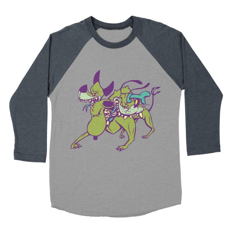 Cancerbero Men's Baseball Triblend Longsleeve T-Shirt by monoestudio's Artist Shop
