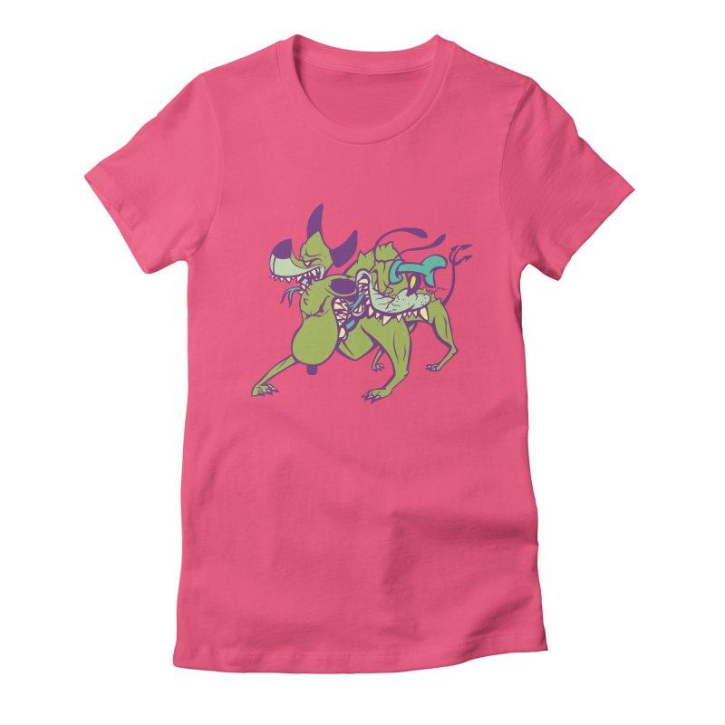 Cancerbero Women's T-Shirt by monoestudio's Artist Shop