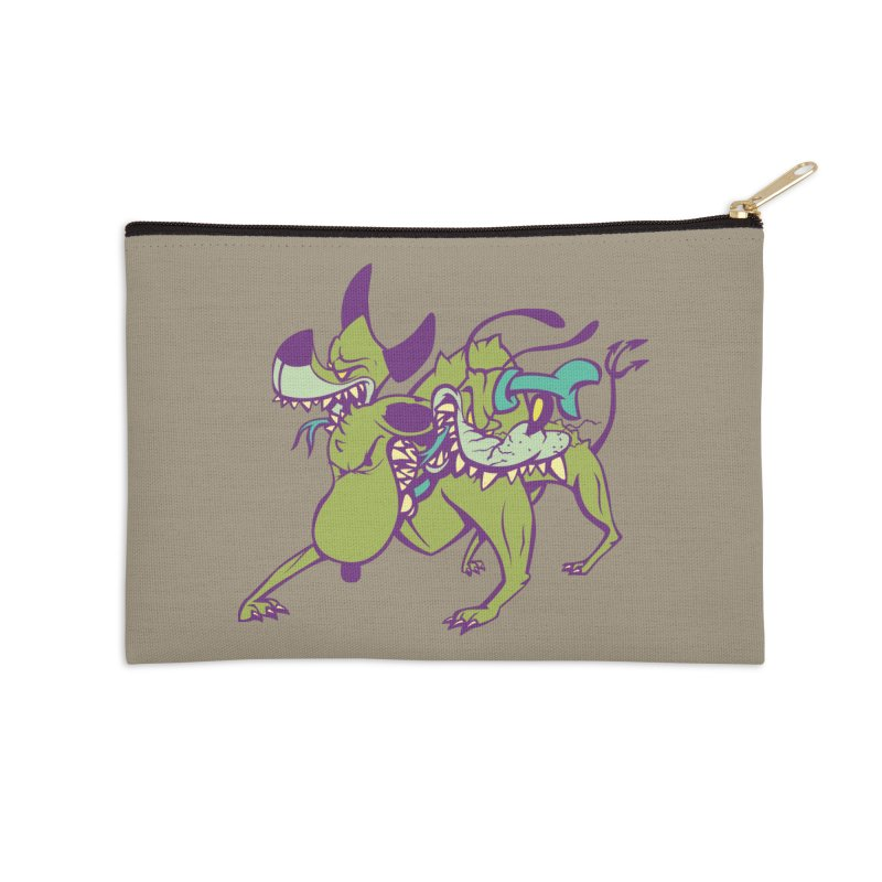Cancerbero Accessories Zip Pouch by monoestudio's Artist Shop