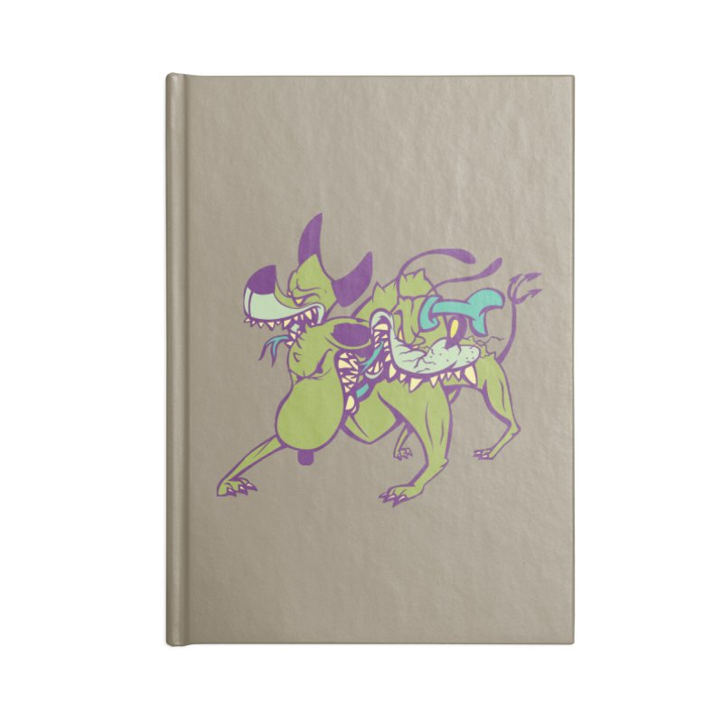 Cancerbero Accessories Lined Journal Notebook by monoestudio's Artist Shop