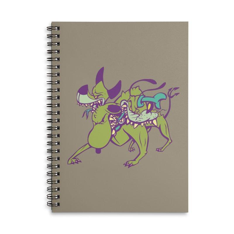 Cancerbero Accessories Notebook by monoestudio's Artist Shop