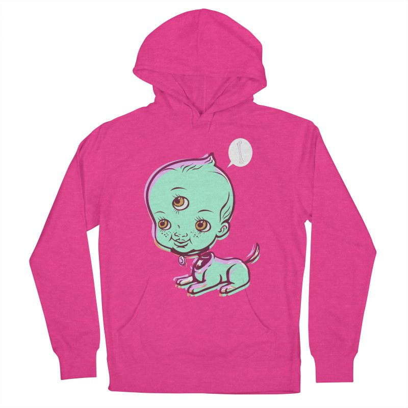 Puppy Women's Pullover Hoody by monoestudio's Artist Shop