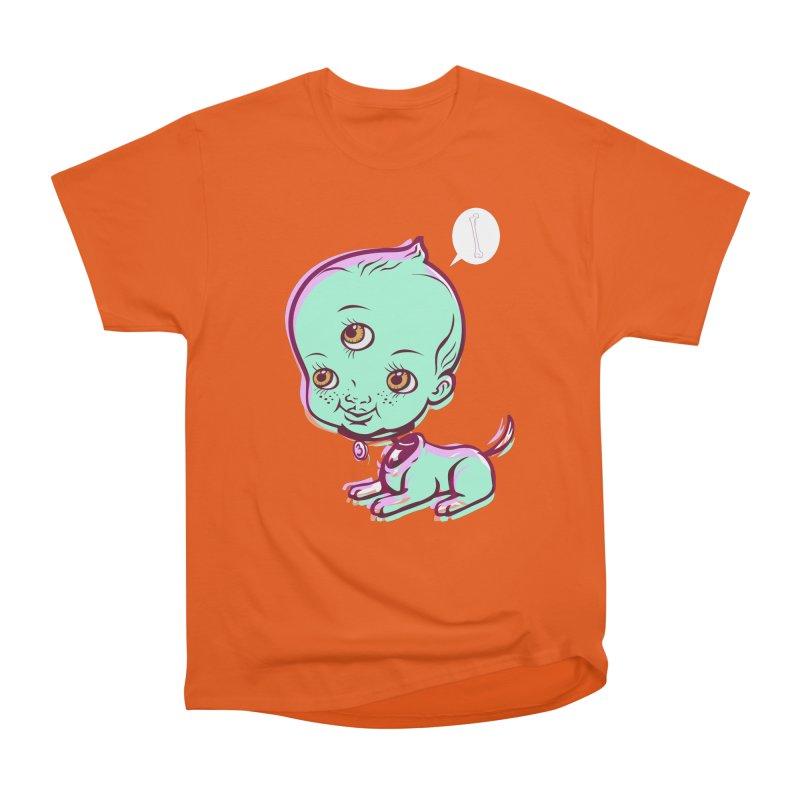 Puppy Men's Heavyweight T-Shirt by monoestudio's Artist Shop