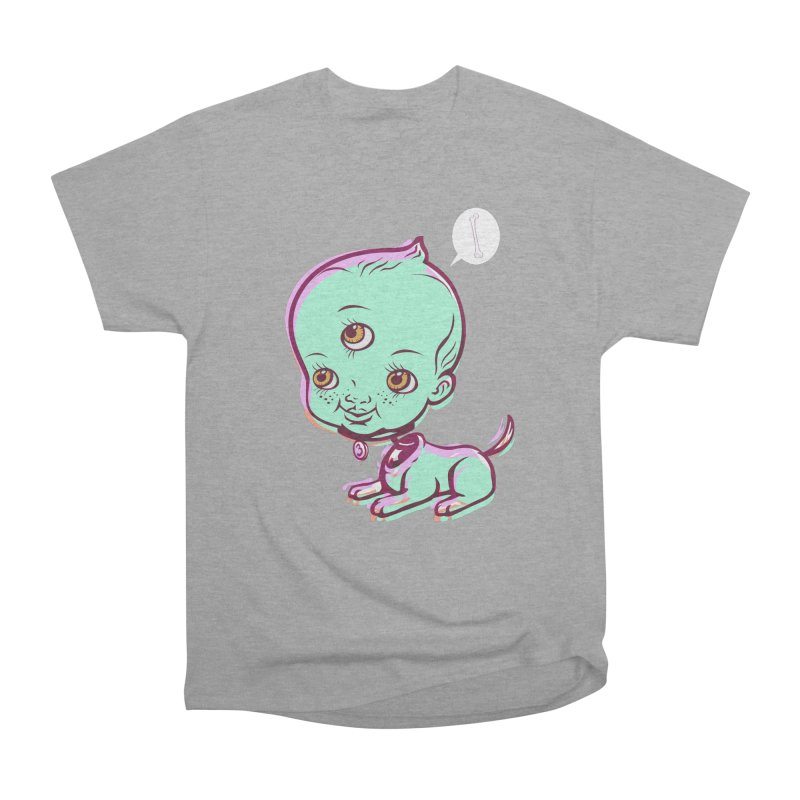 Puppy Men's Heavyweight T-Shirt by monoestudio's Artist Shop