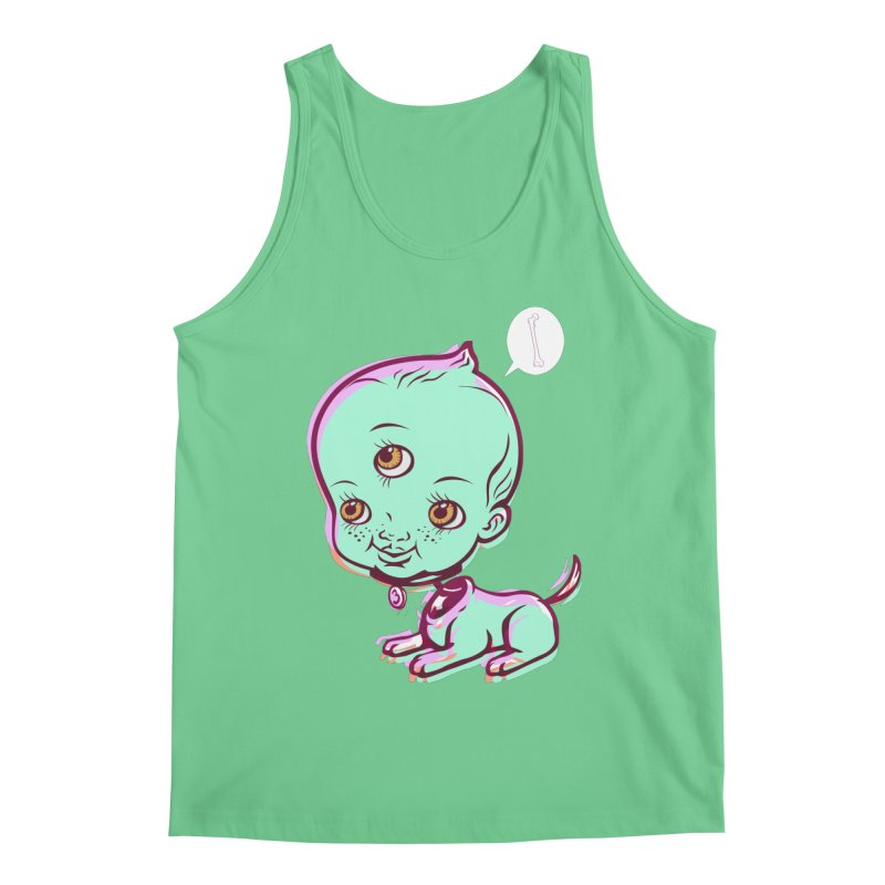 Puppy Men's Regular Tank by monoestudio's Artist Shop