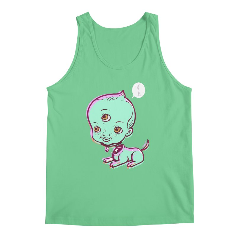 Puppy Men's Tank by monoestudio's Artist Shop