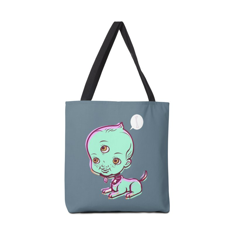 Puppy Accessories Tote Bag Bag by monoestudio's Artist Shop