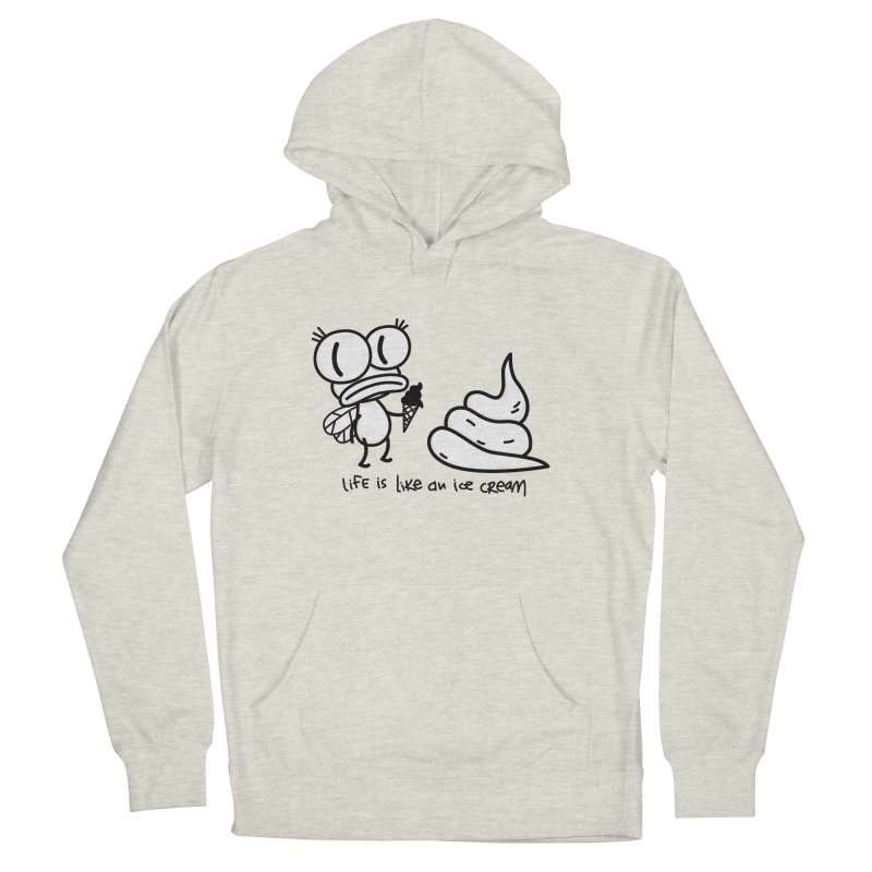 Fly Women's French Terry Pullover Hoody by monoestudio's Artist Shop