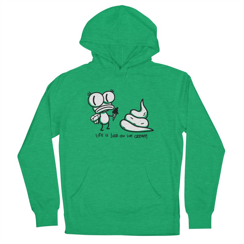 Fly Men's French Terry Pullover Hoody by monoestudio's Artist Shop