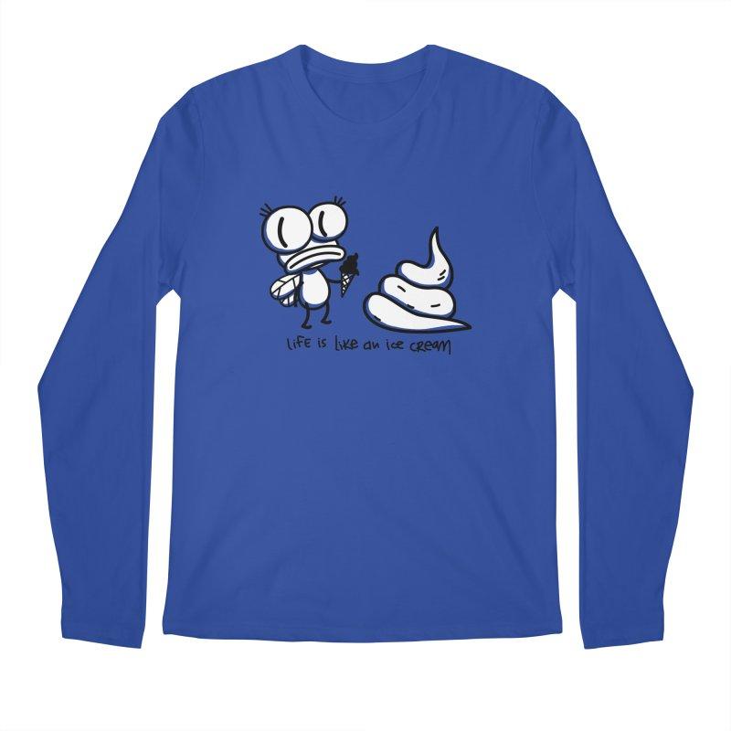 Fly Men's Regular Longsleeve T-Shirt by monoestudio's Artist Shop
