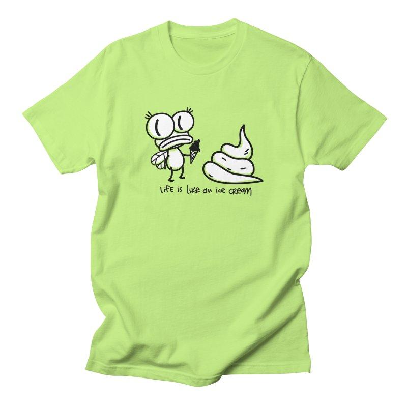 Fly Women's Regular Unisex T-Shirt by monoestudio's Artist Shop