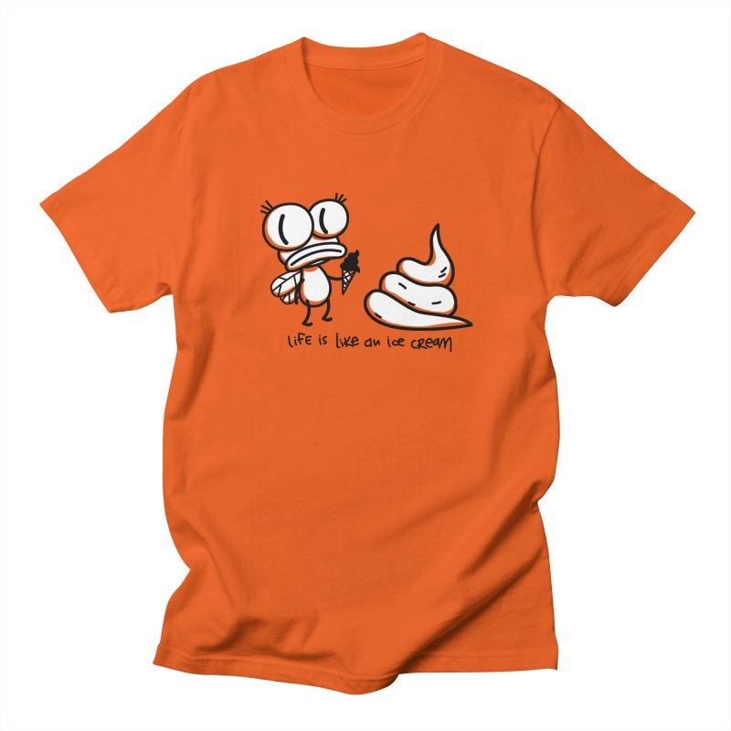 Fly Men's Regular T-Shirt by monoestudio's Artist Shop